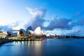 The scenery of sydney opera house — Stock Photo