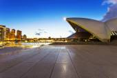 Sydney opera house and cityscape — Stock Photo