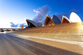 Kroky z opery v sydney — Stock fotografie