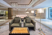 Moderne kantoor lobby — Stockfoto