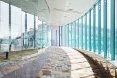 Modern building corridor interior — Stock Photo