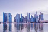 Prosperous cityscape,buildings exterior — Stock Photo