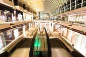 SINGAPORE - July 1: The Shoppes at Marina Bay Sands interior on  — Stock Photo