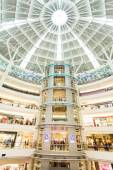 Shopping mall atrium — Stock Photo