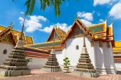Buddism temple closeup view — Stock Photo