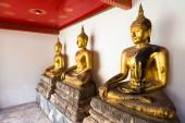 Buddha sculptures — Stock Photo
