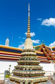 Ancient buddism stupas  — Stock Photo