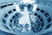 Office building atrium — Foto Stock
