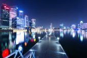 Night view of prosperous city  — Stock Photo