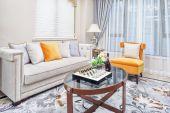 Modern living room luxury decoration interior — Stockfoto
