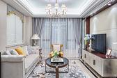 现代居室豪华装饰的室内装饰 — 图库照片