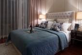 Modern  bedroom luxury decoration — ストック写真