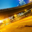 Modern city urban traffic light trails — Stock Photo #54984491