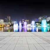 Music fountain — Stock Photo