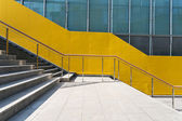 Steps by the building — Stock Photo