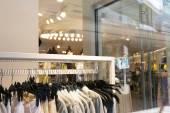 Modern fashion shop interior  — Stock Photo