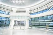 Edificio per uffici moderno futuristico interni — Foto Stock