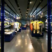 Clothes shop interior — Stock Photo