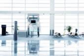 Airport waiting hall — Stock Photo