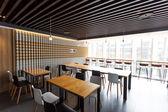 Modern caffee interior — Stock Photo