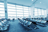 Chairs in waiting hall — Stock Photo