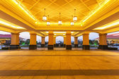 Hotel entrance front reception hall — Foto de Stock