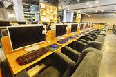 Modern internet cafe interior  — Stock fotografie