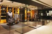 Modern fashion shop storefront and showcase                 — Stock Photo