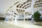 Shopping mall entrance hall interior and decoration — Foto Stock