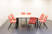 Conference room interior and furniture — Foto Stock