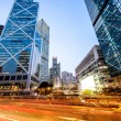Traffic and office buildings in modern city — Stock Photo #70862253