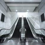 Escalator in underground tunnel — Stock Photo #71508533