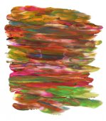 Hand painted multicolored background — Stock Photo