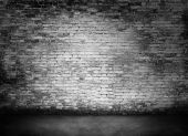 White murky brick wall  — Stock Photo