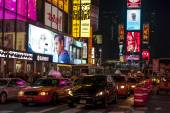 Night in Times Square — Stock Photo