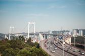 Chinese xiamen haicang bridge   — Stock Photo