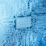 Computer circuit board closeu — Stock Photo #52442143