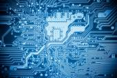 Complexity circuit board closeup   — Stock Photo