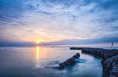 восход солнца на море — Стоковое фото