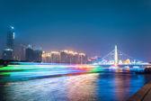 Beautiful zhujiang at night   — Stock Photo