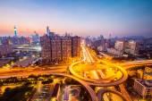 The brilliant city interchange  — Stock Photo