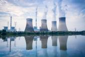 Coal-fired power plant — Stock Photo
