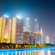 Modern buildings at night in guangzhou — Stock Photo #64035589