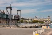 Seaport Barcelona Spain — Stockfoto