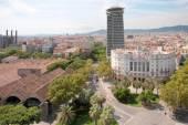 Streets of Barcelona Spain — 图库照片