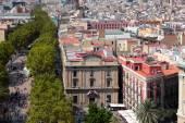 Calles de Barcelona España — Foto de Stock