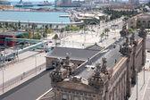 Sea port Barcelona Spain — Foto de Stock