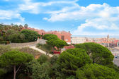 Resort town Calella — Stock Photo