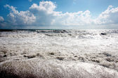 Gale at the seaside — Stock Photo