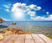 Pobřeží moře — Stock fotografie